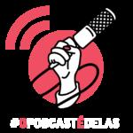 O Podcast é Delas - fundo escuro